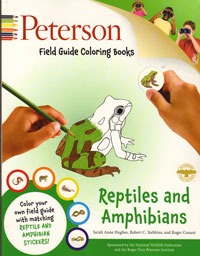 Peterson, Reptiles and Amphibians Colouring Book
