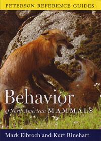 Peterson, Behaviour of North American Mammals