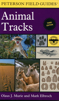 Animal Tracks, Peterson Field Guides