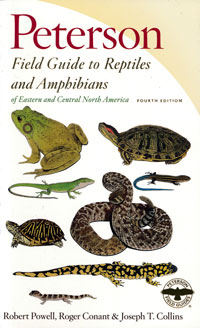 Reptiles and Amphibians of Eastern/Central North America, Peterson Field Guide