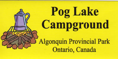 Pog Lake Bumper Sticker