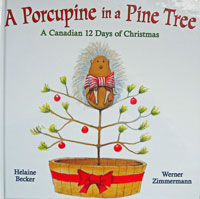 A Porcupine in a Pine Tree
