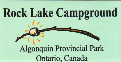 Rock Lake Bumper Sticker