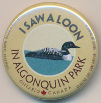 OUT OF STOCK/UNAVAILABLE I Saw a Loon See Saw Badge