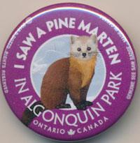 I Saw a Marten See Saw Badge