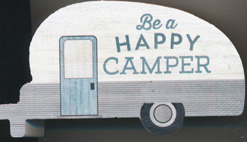 Block Be A Happy Camper