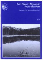 No. 05 - Acid Rain in Algonquin Provincial Park