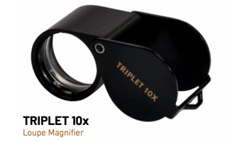 Triplet 10x Magnifying Loupe 10732