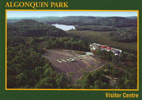 #1. Algonquin Visitor Centre - View from the Deck