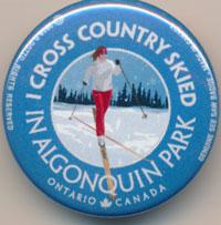 I Cross Country Skied See Saw Badge