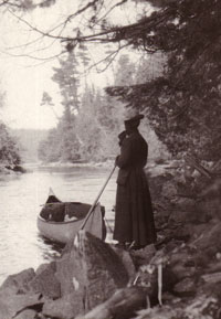 #67. Woman at Portage