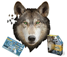 I AM WOLF 550 PIECE PUZZLE